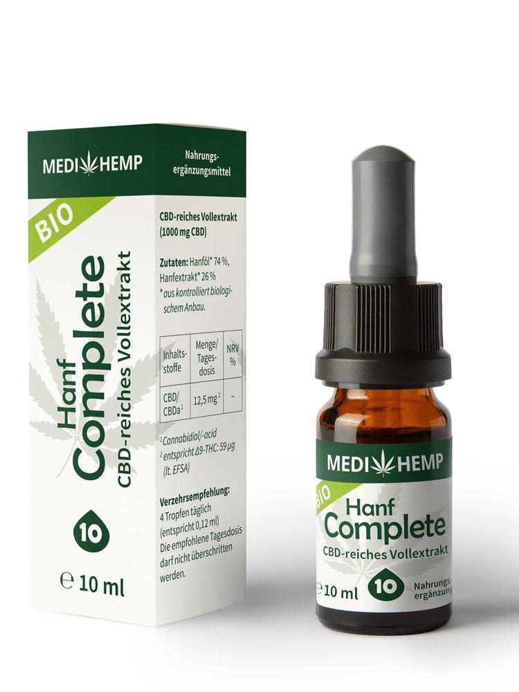 Medihemp Bio Hanf Complete Öl 10% CBD