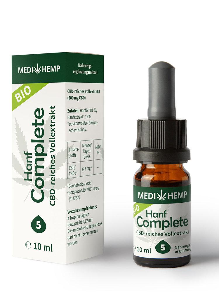 Medihemp Bio Hanf Complete Öl 5% CBD
