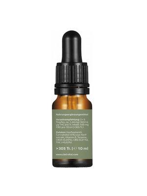 CBD-Vital Bio Naturextrakt Premium 5%  CBD