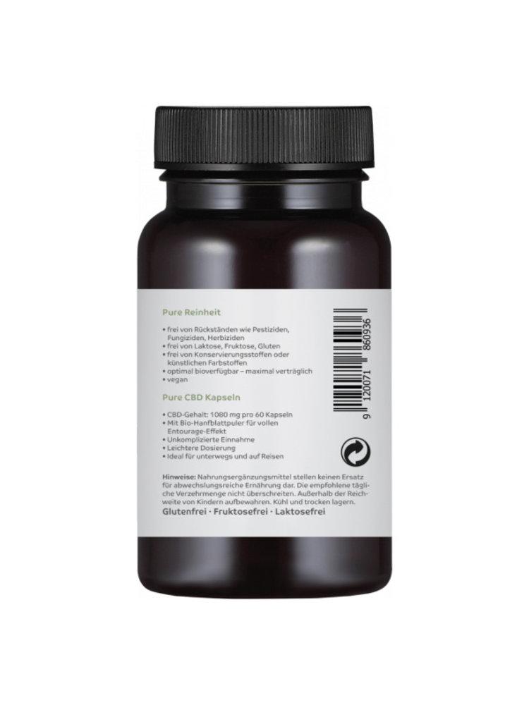 CBD-Vital CBD-Vital Bio Pure CBD 18 mg Kapseln