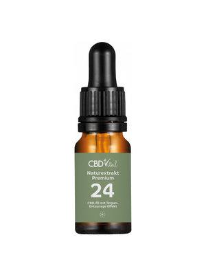 CBD-Vital CBD-Vital Bio Naturextrakt Premium 24%  CBD