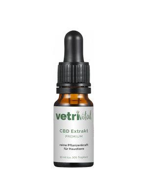 """VetriVital Bio CBD  Extrakt """"Premium"""" für Tiere bis 20 kg"""
