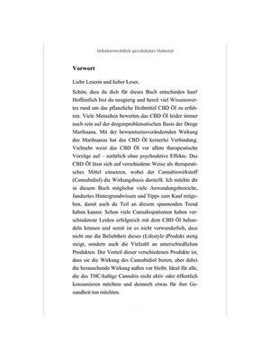 "Pierre Edelbuch, ""CBD  Öl"" Handbuch"