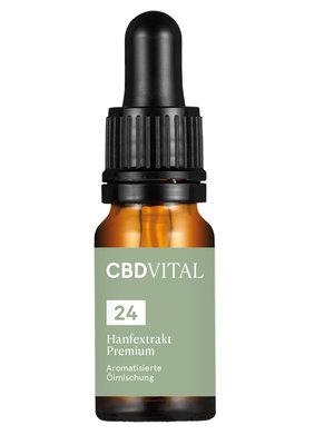 CBD-Vital CBD-Vital Bio Hanfextrakt Premium 24%