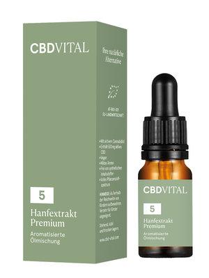 CBD-Vital CBD-Vital Bio Hanfextrakt Premium 5%