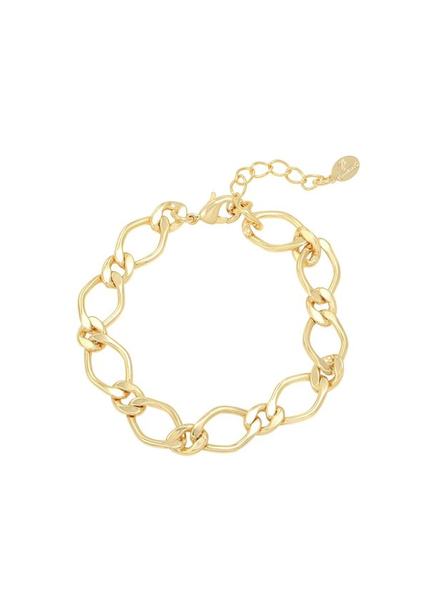 KNOTTED BRACELET GOLD-PLATED