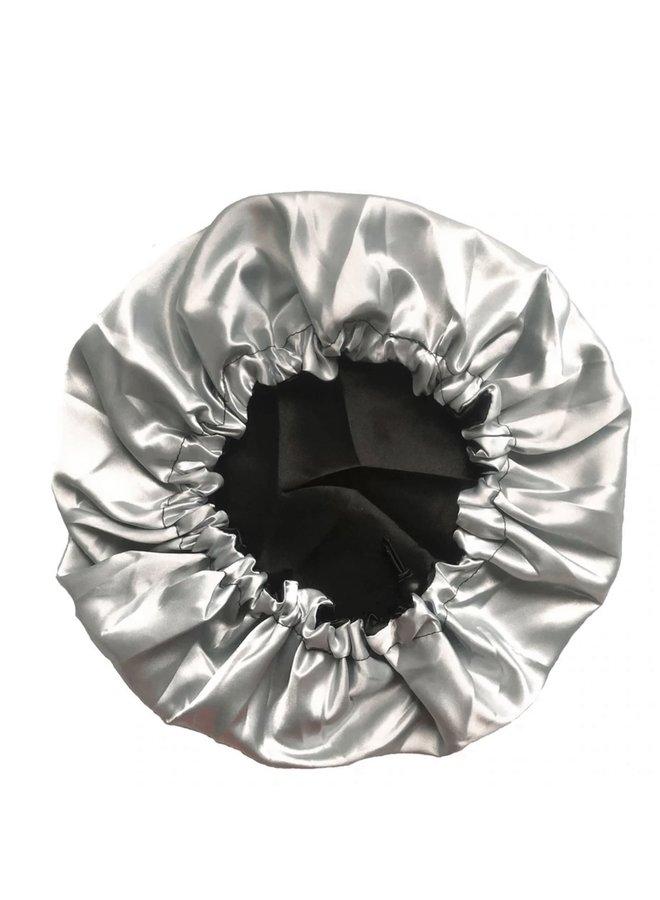 SILKY BONNET - BLACK