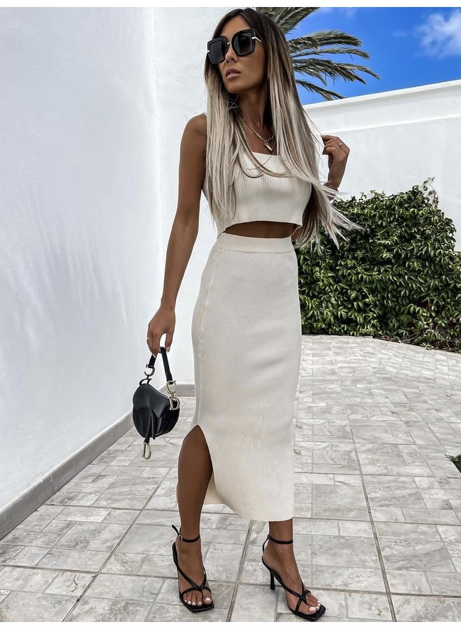 TWO PIECE CREME