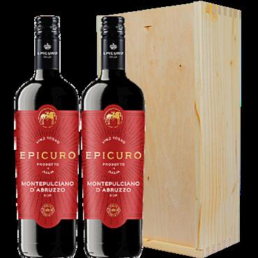 Wijnkado Italië Epicuro Montepulciano d' Abruzzo