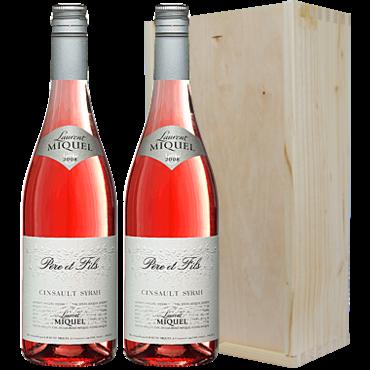 Wijnkado Frankrijk Laurent Miquel Rosé