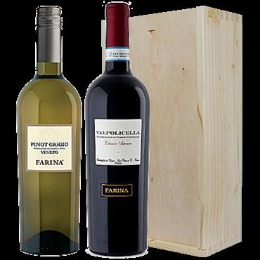 Wijnkado Italië Farina Pinot Grigio & Valpolicella Superiore