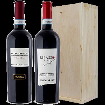 Wijnkado Italië Farina Valpolicella Superiore & Ripasso