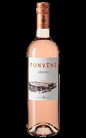 Fonvène Fonvène Ardéche Rose Vignerons Ardéchois