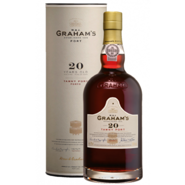 Graham's 20 Years Old Tawny Port met koker