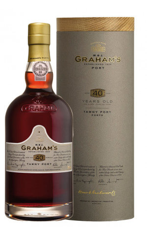 Graham's Port Graham's 40 Years Old Tawny Port in luxe koker