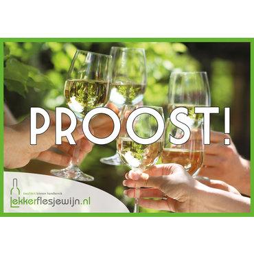 Wenskaart Proost!