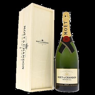 Moët & Chandon Champagne Magnum Brut Imperial 150CL & kist