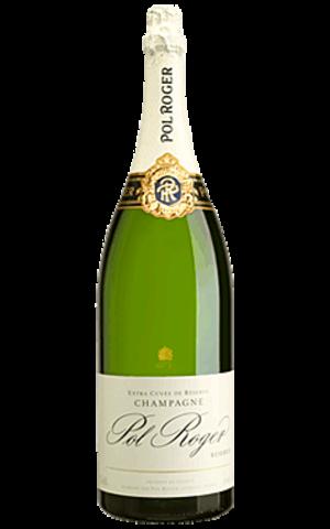 Pol Roger Pol Roger Champagne Brut Reserve JEROBOAM  (3 liter)