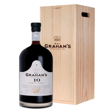 Graham's 10 Year Old Tawny Port (4,5L in houten kist)