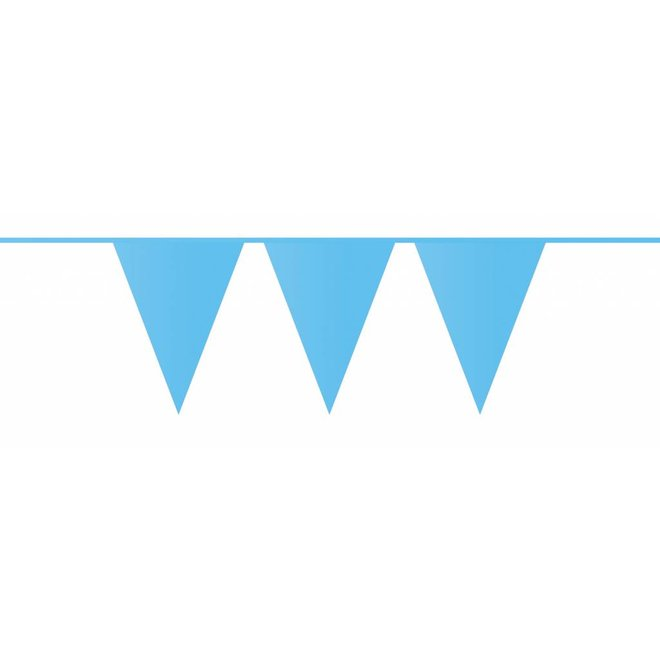 Vlaggenlijn Baby Blauw 10M