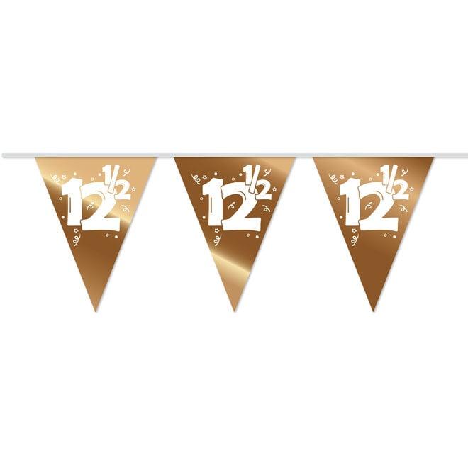 Vlaggenlijn Metallic Brons / Roodkoper 12,5 (10M)