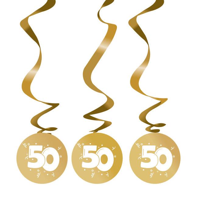 Rotorspiralen Metallic Goud 50 (3ST)