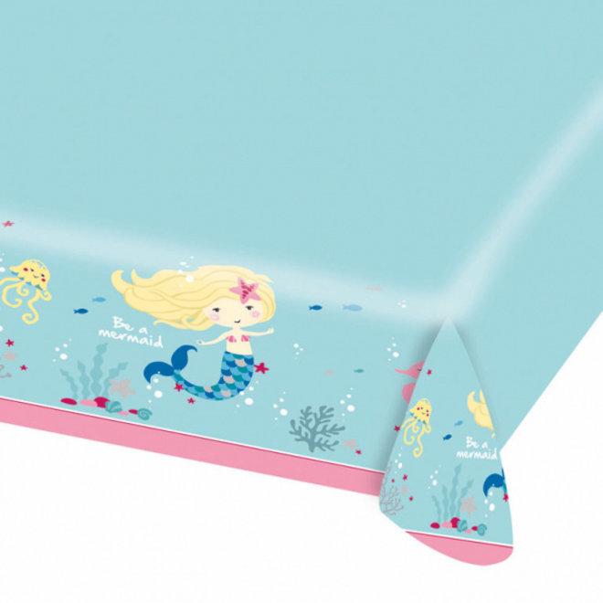 Papieren Tafelkleed Be A Mermaid 115cm x 175cm (1ST)
