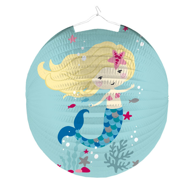 Lampion Be A Mermaid 25cm (1ST)