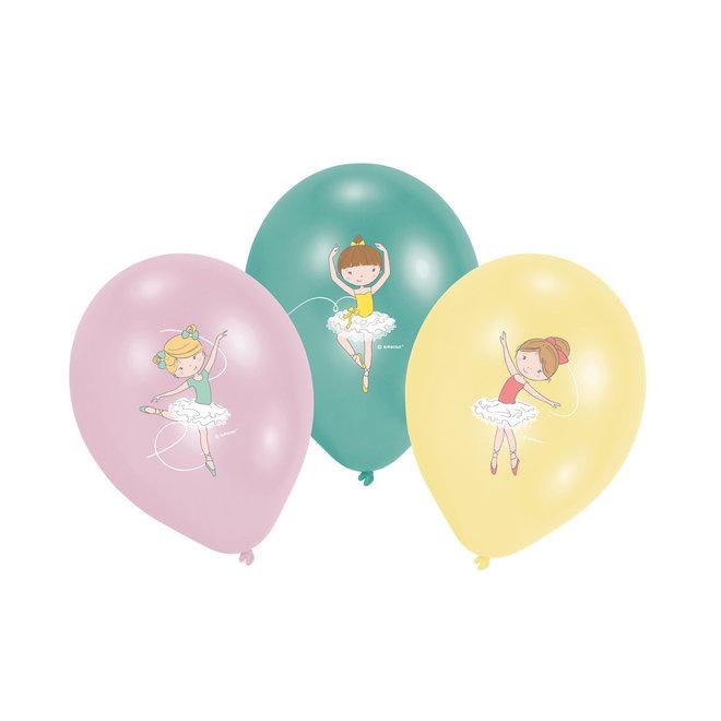 Ballonnen Little Dancer Metallic 28cm (6ST)