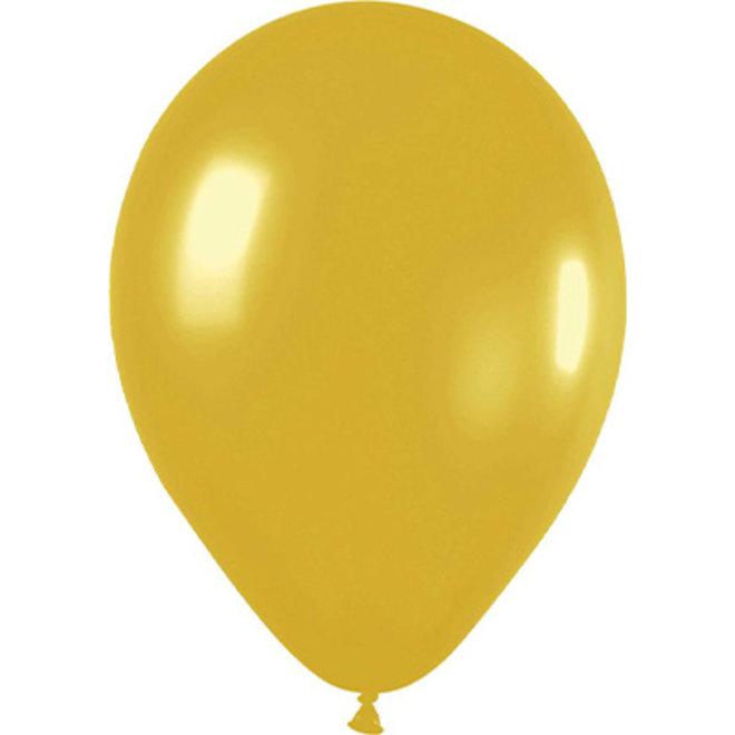 Ballonnen Metallic Goud (15ST)