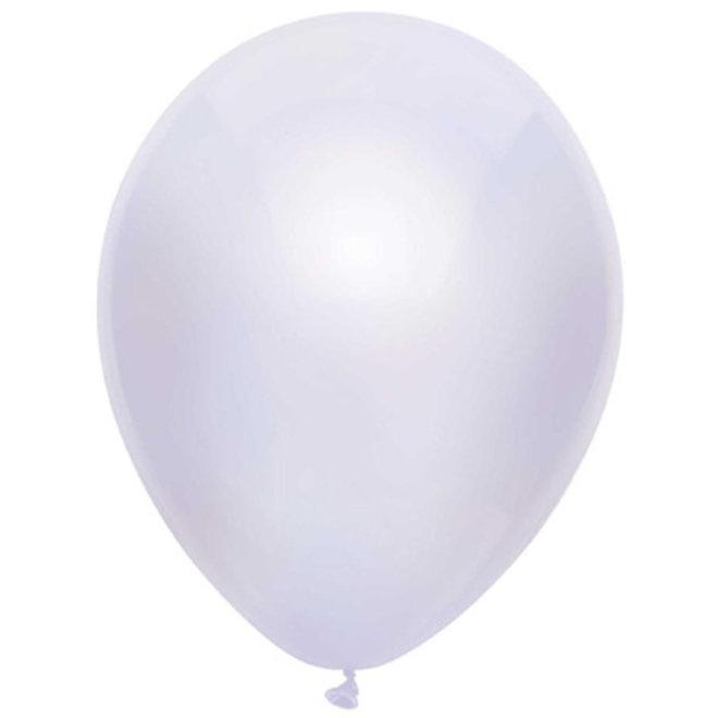 Ballonnen Metallic Wit (15ST)