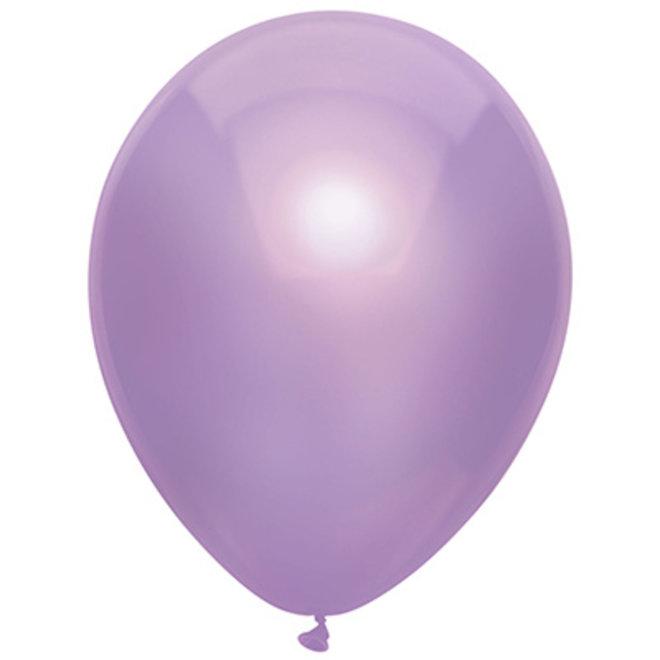 Ballonnen Metallic Lavendel (15ST)