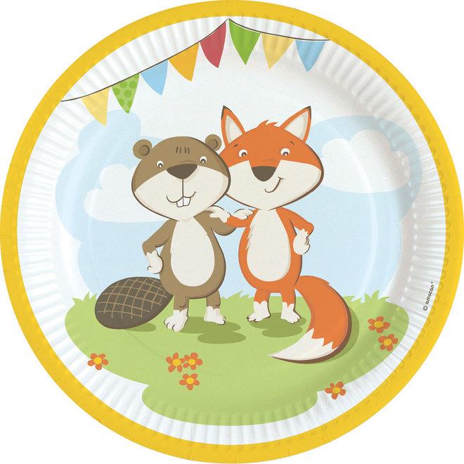 Borden Fox & Beaver 23CM (8ST)