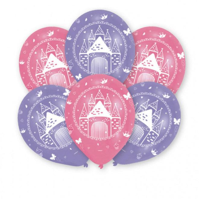 Ballonnen Woodland Prinses 27.5CM (6ST)