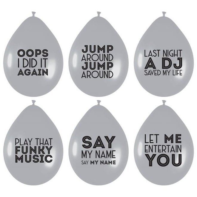 Ballonnen Song Quotes 6ST