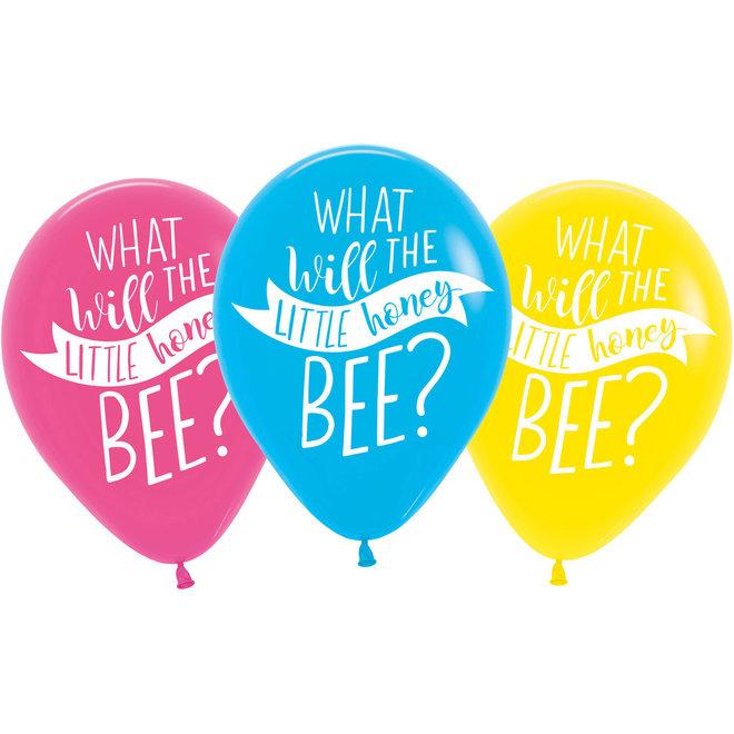 Ballonnen What Will it Bee 27.5CM (6ST)