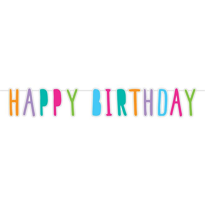 "Letterslinger ""Happy Birthday Pastel"" 1.8M"
