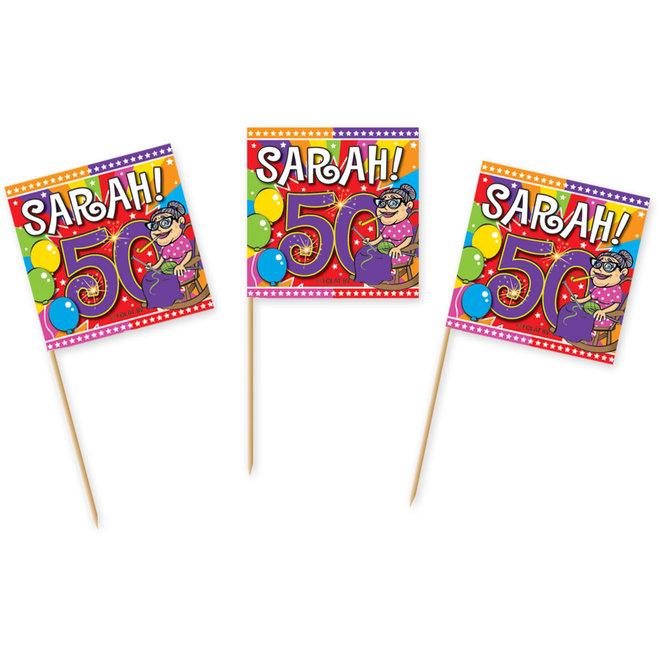 Cocktailprikkertjes Sarah (50ST)