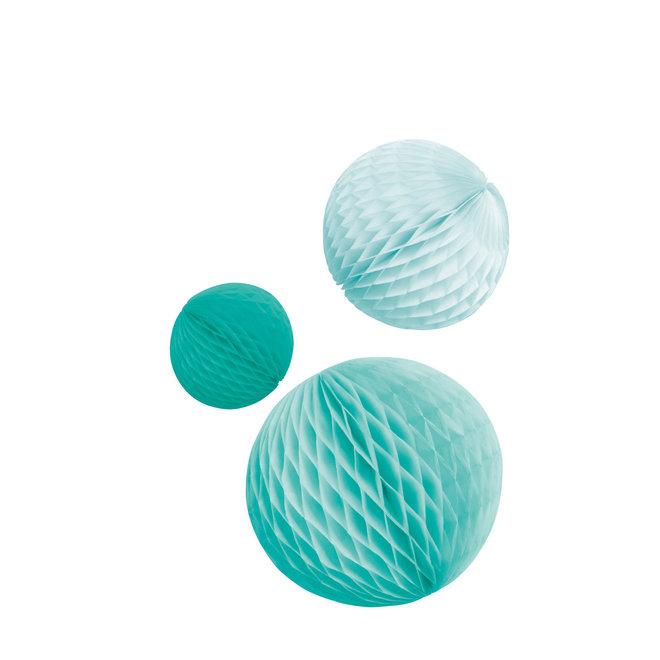 3x Honeycomb Mint 14cm / 18cm / 22cm