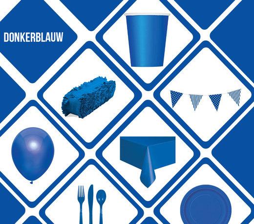 Een op en top feest in de kleur Donkerblauw!