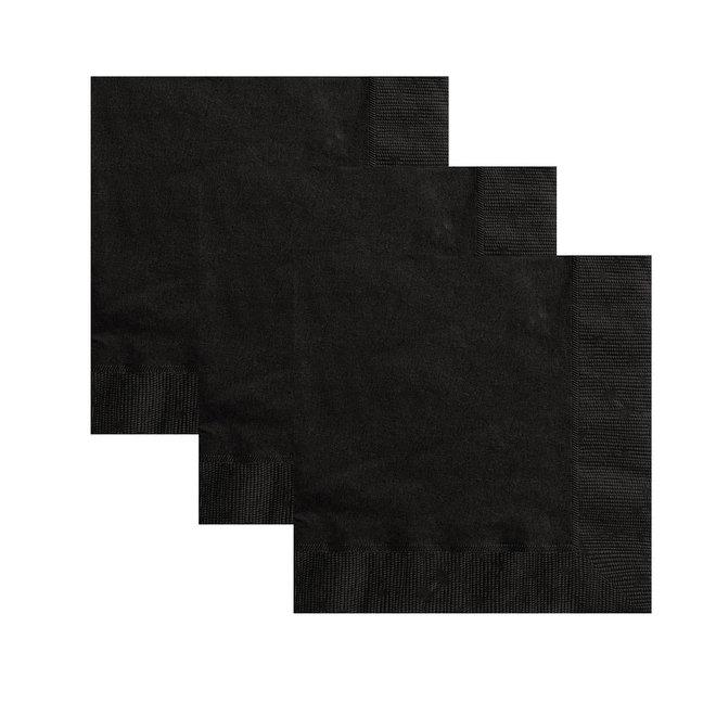 Servetten Zwart 33cm x 33cm (20ST)