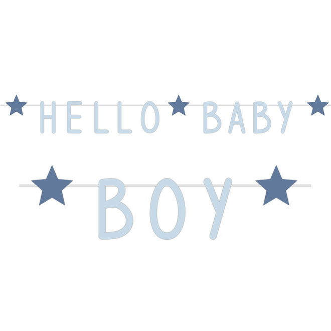 Letterslinger Hello Baby Boy 1.4M