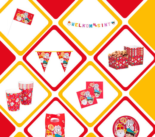 Sinterklaas versiering voor de echte 5 december liefhebber!