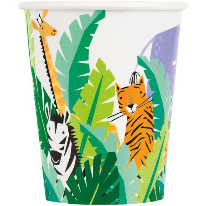Bekertjes Animal Safari 270ML (8ST)