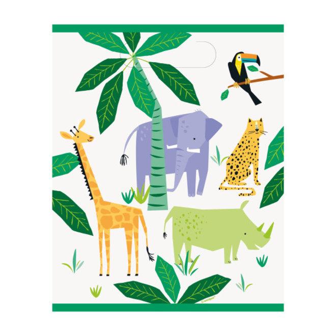 Uitdeelzakjes Animal Safari (8ST)
