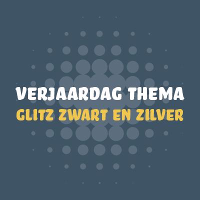 Glitz Zwart & Zilver