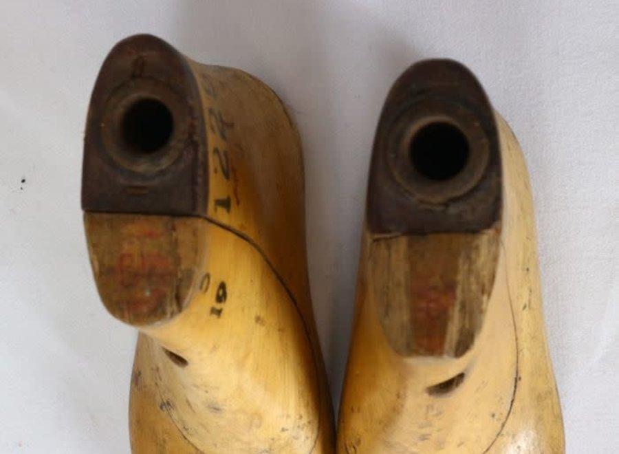 Paar kinderschoenvormen - Ca 1950