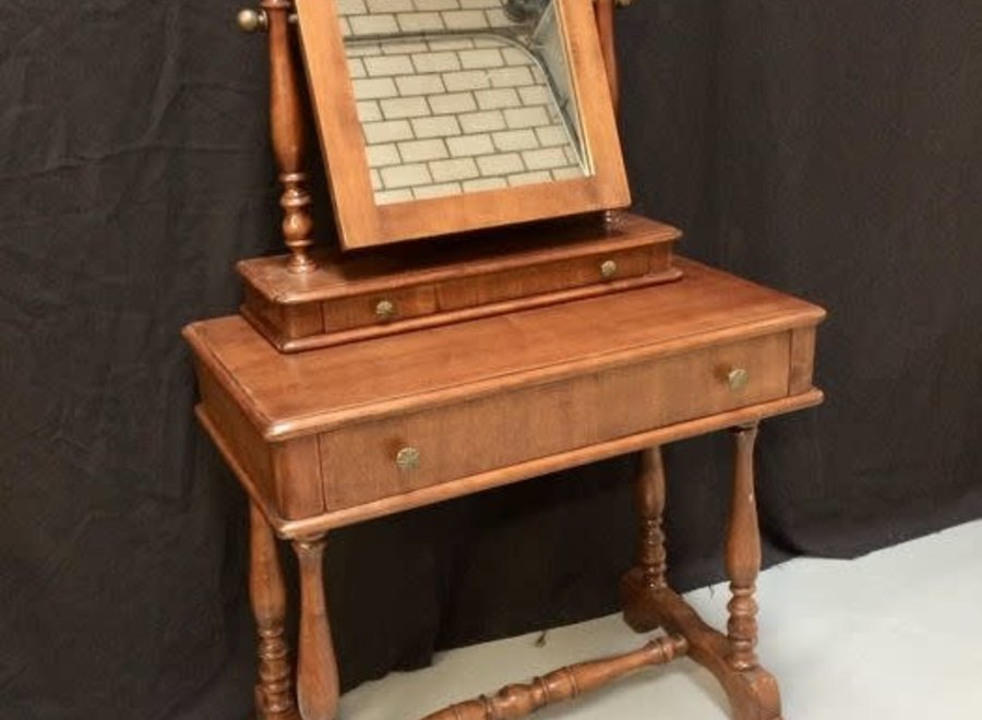 Dressing table with mirror Ca 1875 - Mahogany