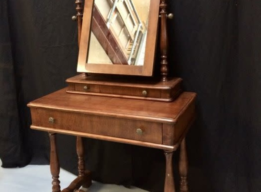 Victorian mahogany dressing table.