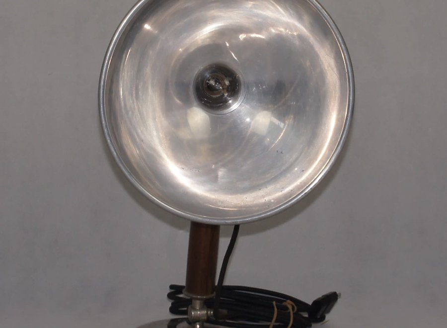 Old medical table lamp Radius-Therm W.A.V.